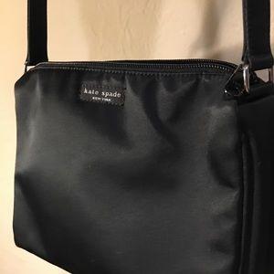 kate spade Bags - Original Kate Spade Satin Shoulder Bag Black